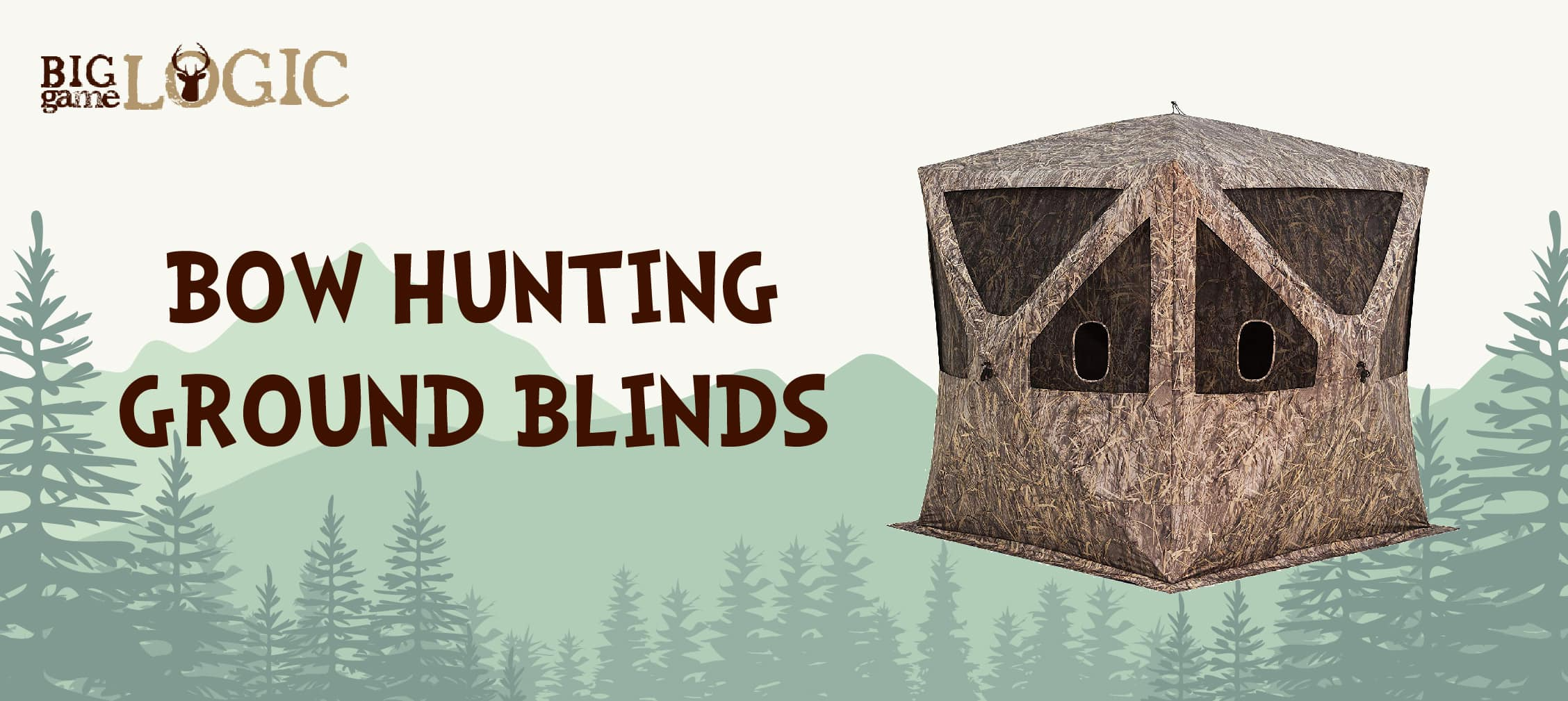 Incredible Best Ground Blinds For Bow Hunting 2019 Review Big Game Inzonedesignstudio Interior Chair Design Inzonedesignstudiocom