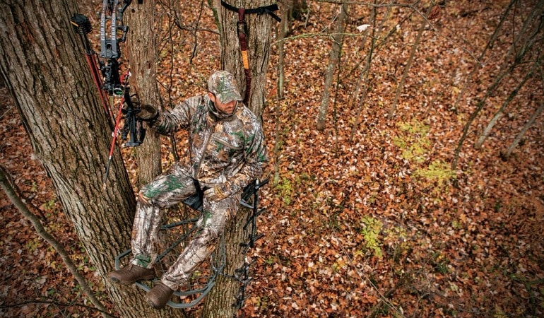 Best Ladder Tree Stands Of 2019 Complete Hunter S Guide