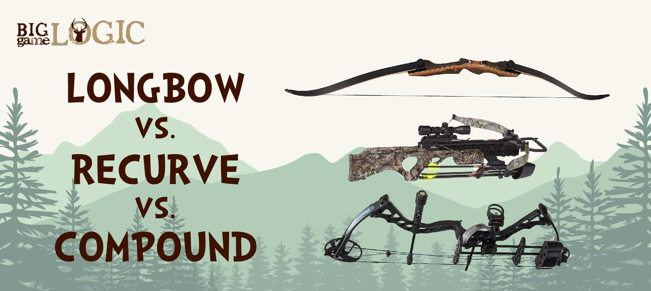 Longbows vs  Recurve vs  Compound Bows – Informational Guide